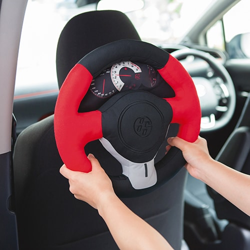 Car fan ステアリング型クッション