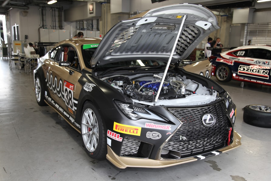 ♯38 ADVICS muta Racing RC F TWS(TRACY SPORTS)