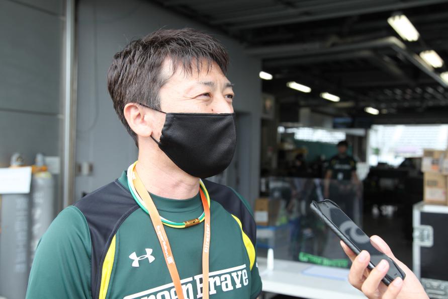 埼玉トヨペット(株)Green Brave 青柳 浩チーム代表