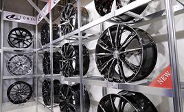 ホイールメーカー・ウェッズ&レース用エンジンパーツ・TRD~東京オートサロンブース探訪~
