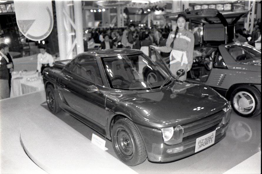 コンセプトカー マツダ・az550タイプB