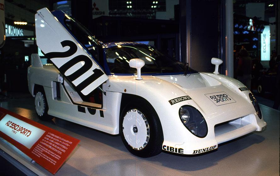 コンセプトカー マツダ・az550タイプC