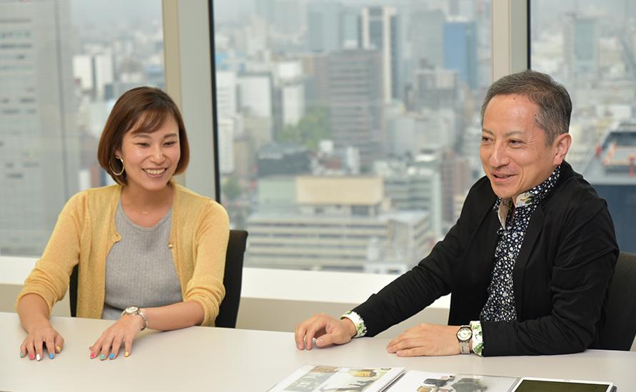 写真左:井原さん 写真右:松岡さん