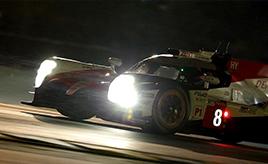 【トヨタ WEC】第2戦予選、トヨタは最前列からル・マン24時間の決勝レースへ