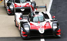 第3戦予選、2台のTS050 HYBRIDが最前列から決勝レースをスタート