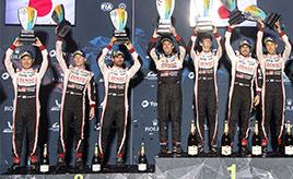 第6戦決勝、8号車が今季3勝目、チームは今季5度目の1-2フィニッシュ