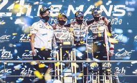 【トヨタ WEC】2019-2020 第7戦 中嶋/ブエミ/ハートレー組 TS050 HYBRID 8号車が3連覇!7号車はトラブルから追い上げ3位表彰台 TGRは2019-2020年シーズンのチームチャンピオン確定