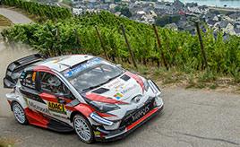 【トヨタ WRC】第9戦2日目、タナックが総合2位とのタイム差を拡大