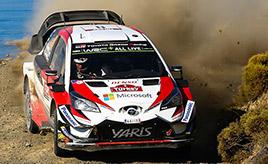 【トヨタ WRC】第10戦3日目、オット・タナックが首位に浮上