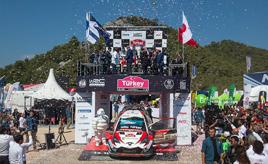 【トヨタ WRC】第10戦最終日、タナックが3戦連続優勝で今季4勝目を飾る