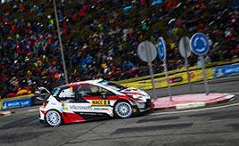 【トヨタ WRC】第12戦最終日、タナックが総合6位、ラッピが総合7位でフィニッシュ チームはマニュファクチャラー選手権首位の座を守る