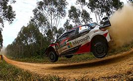 【トヨタ WRC】第13戦シェイクダウン、タイトル獲得に向け最終確認走行を実施