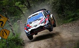 【トヨタ WRC】第13戦初日、堅実な走りでラトバラが初日総合3位に タナックは総合5位、ラッピは総合6位につける