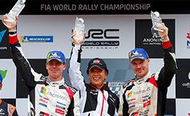 【トヨタ WRC】第13戦3日目、トヨタはマニュファクチャラーズタイトルを獲得