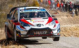 【トヨタ WRC】第1戦2日目、困難な状況を乗り越えて全車がデイ2を走破