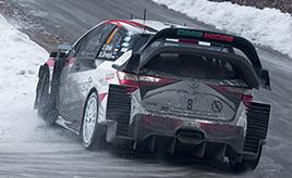 【トヨタ WRC】第1戦3日目、タナックがデイ3の全SSで最速タイムを記録