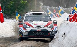 【トヨタ WRC】第2戦2日目、タナックが首位と2秒差の総合2位に