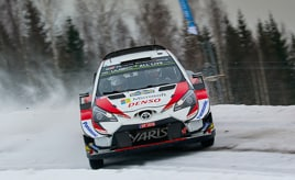 【トヨタ WRC】第2戦3日目、タナックが首位と2秒差の総合2位に