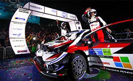 【トヨタ WRC】第3戦初日、シェイクダウンでミークがベストタイム