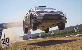 【トヨタ WRC】第3戦3日目、タナックが総合3位にポジションアップ