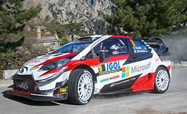 【トヨタ WRC】第4戦初日、タナックが安定した走りで総合2位に