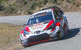 【トヨタ WRC】第4戦2日目、ラトバラとミークがポジションアップ