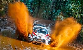 【トヨタ WRC】第6戦初日、タナックが首位に立ち、2位に22.4秒差を築く ラトバラは総合3位、ミークは総合5位につける