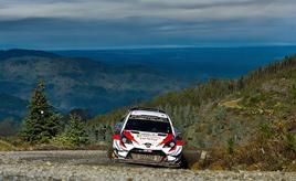 【トヨタ WRC】第6戦2日目、タナックが首位の座を堅持し、総合2位との差を拡大