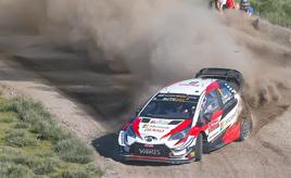 【トヨタ WRC】第7戦2日目、トラブルを乗り越えタナックが首位を堅持 好調ミークは総合2位に浮上する