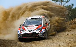 【トヨタ WRC】第11戦2日目、3本のSSベストタイムを記録するも苦戦