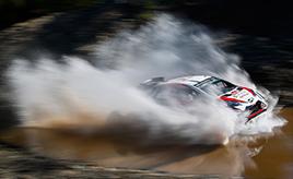 【トヨタ WRC】第11戦4日目、ラトバラが総合6位、ミークが総合7位で完走 タナックは選手権首位の座を守る