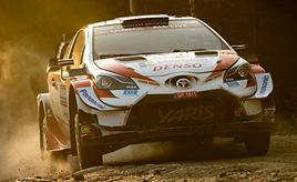 【トヨタ WRC】第2戦 ラリー・スウェーデン シェイクダウン1でロバンペラが1番手タイムを記録 ヤリスWRCがトップ3を占める