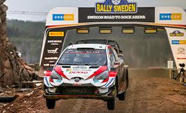 【トヨタ WRC】第2戦2日目、 エバンスが3ステージ連続ベストタイムで首位を堅持 オジエは総合3位に浮上、ロバンペラは総合4位につける