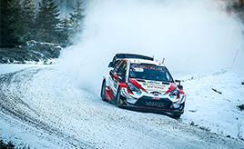 【トヨタ WRC】第2戦初日、 エバンスが2本のベストタイムで首位に立つ ロバンペラは総合3位、オジエは総合4位につける