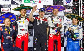 第3戦最終日、オジエが今季初優勝、メキシコ通算6勝目を飾る エバンスは総合4位、ロバンペラは総合5位でフィニッシュ