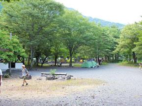 温泉街にほど近いキャンプ場でデイキャンプ 静岡県静岡市梅ヶ島