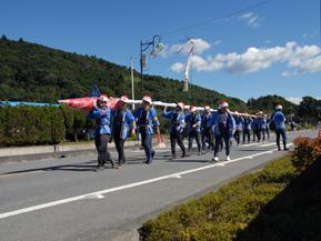 椋神社の龍勢祭はロケット打ち上げが迫力満点 埼玉県秩父市