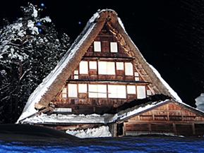 「雪あかり」が美しい世界遺産の五箇山へドライブ! 富山県南砺市
