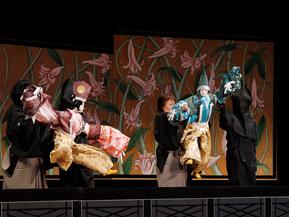 能勢の伝統芸能、能勢人形浄るりを鑑賞するドライブ 大阪府能勢町