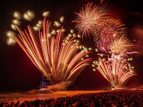 夏本番!人気の花火大会&森の中の隠れ家カフェへドライブ 沖縄県本部町