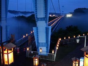 夏の夜の祭典!幻想的な竜神峡灯ろうまつりへドライブ 茨城県常陸太田市