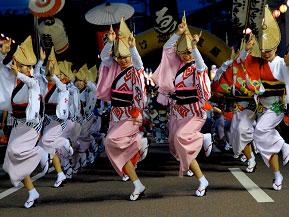 真夏の夜を熱く踊る!いけだ阿波おどりへドライブ 徳島県三好市