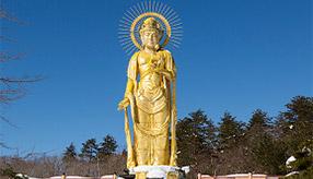 新しい年に願いを込めて!田沢湖金色大観音へドライブ 秋田県仙北市
