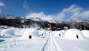 雪の中で味わう「のろし鍋」!一面銀世界のかまくらの里へドライブ 長野県飯山市