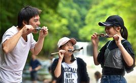 緑の中で楽しむ渓流釣りは最高!彩の国ふれあいの森へドライブ 埼玉県秩父市
