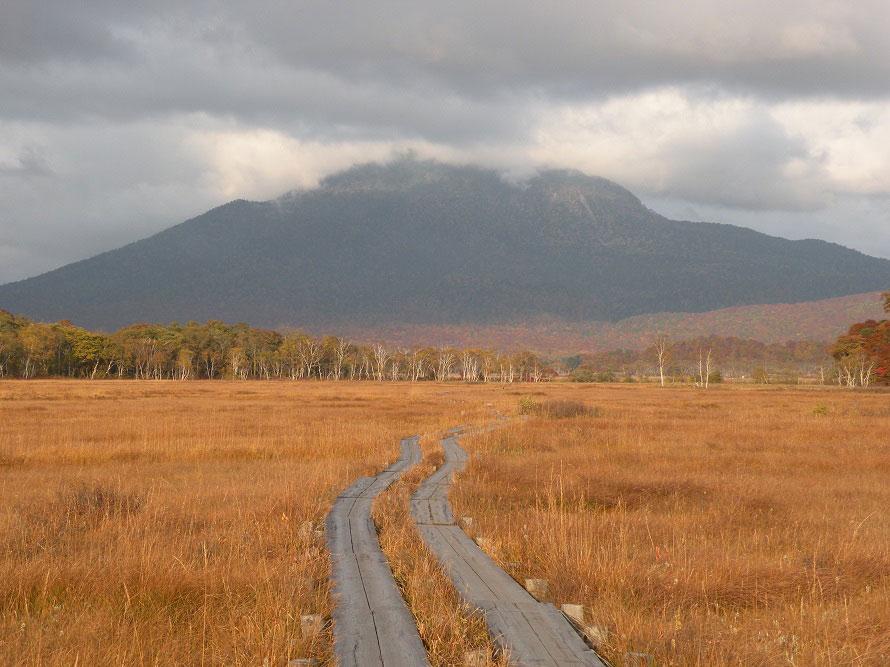 尾瀬ヶ原には木道が整備されており、歩きやすくなっている。