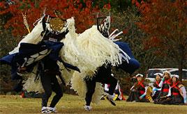 遠野最大のお祭り!市内各地の郷土芸能が集まる「日本のふるさと遠野まつり」へドライブ 岩手県遠野市