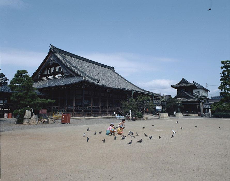 キャンペーンのチェックポイントである大通寺。本堂、大広間、含山軒及び蘭亭は国の重要文化財。