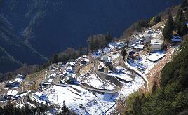 絶景!日本のチロル、下栗の里や初日の出を拝める風越山へドライブ 長野県飯田市