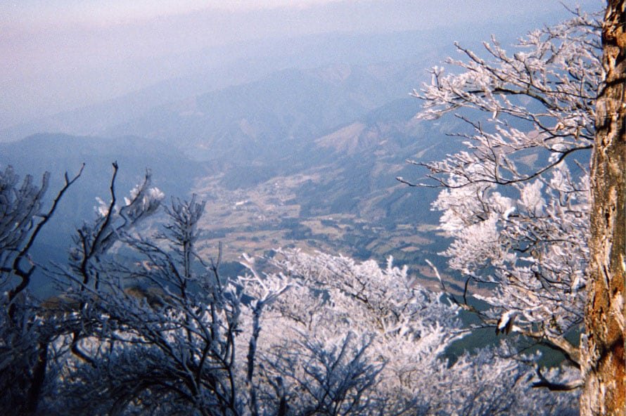 樹氷を見られることが多いのは、12月下旬頃から2月頃にかけての寒い日。
